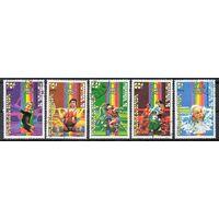 Спорт Сенегал 1976 год 5 марок