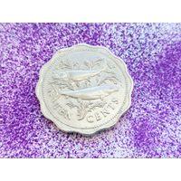 Багамские острова (Багамы). 10 центов 1982.