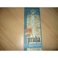 Карта Прага