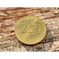 Ливан. 250 ливров 2009.