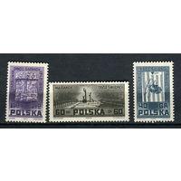 Польша - 1962 - Война - [Mi. 1303-1305] - полная серия - 3 марки. MNH.