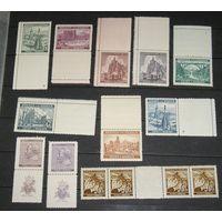 Богемия и Моравия, 14 марок с купонами