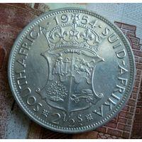 ЮАР. 2 1/2 шиллинга 1954 г.