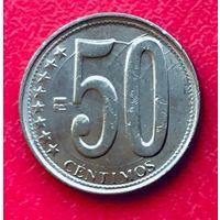 10-04 Венесуэла, 50 сентимо 2009 г.