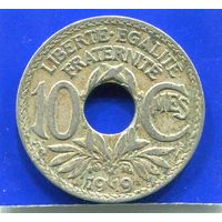 Франция 10 сантимов 1919