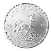 1 Krugerrand (Крюгеррэнд), ЮАР, 2018, серебро 1 oz, инвестиционная