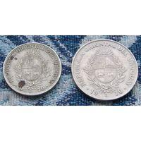 Уругвай 20 и 50 песо 1970 года