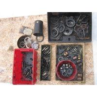 Различные комплектующие для шкворней передней балки,задней ступицы-ключ прилагается,калёные болты для маховика и др.