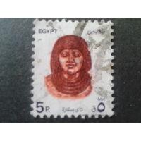 Египет 1993 бюст фараона
