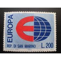 Сан-Марино 1964 Европа полная