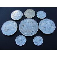 """Сейшельские острова. Набор 8 монет 1976 год  """"Декларация независимости - Сэр Джеймс Мэнчем"""" Нечастый набор"""