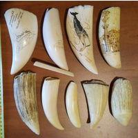 Куплю бивень мамонта, слона, клык моржа, зуб кита кашалота, рог носорога. Различные изделия из кости.