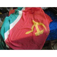 Флаг Литовской ССР 175х90 см.