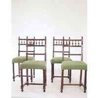 4 стула Стулья в стиле неоготика Массив