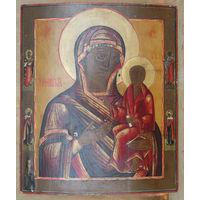 Тихвинская икона Божией Матери. Ветка