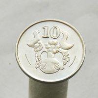 Кипр 10 центов 1988