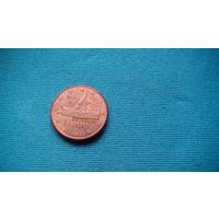 Греция 2 цента (лепта) 2012г распродажа
