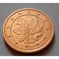 2 евроцента, Германия 2009 D, AU