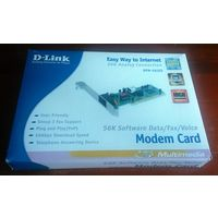 Внутренний аналоговый модем D-link DFM-562IS