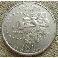 25 центов 2005 США - Индиана