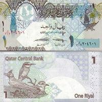 Катар 1 риал   2008 год UNC