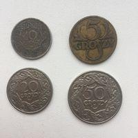 Набор грошей 1923 года. Польша