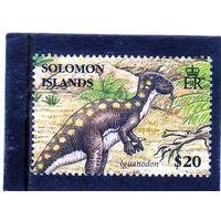 Соломоновы острова. Mi:SB 1322. Динозавры. Игуанодон. 2006.