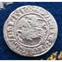 ВКЛ Великое Княжество Литовское 1 полугрош 1510  Сигизмунд 1 Старый