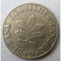 Германия. 10 пфеннигов 1949 J  .101