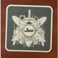 Подставка под пиво Jaws Brewery /Россия/ No 3
