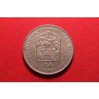 2 кроны 1980. Чехословакия.