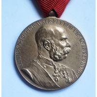Автро-Венгрия медаль Франца Иосифа
