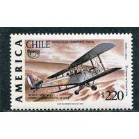Чили. Первый чилийский почтовый самолет