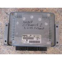 100867 Блок управления двигателем Citroen C5 3.0 V6 0261206419