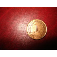 1 цент 1983 год Сингапур