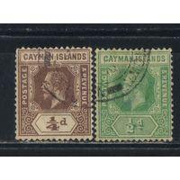 GB Колония Каймановы острова Зависимая территория Ямайки 1912 GV Стандарт #32-3