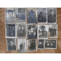 Фото  первых послевоенных лет и фото 1945 года ( 15 шт)
