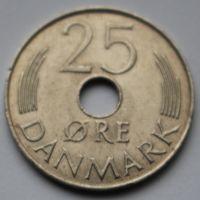 Дания, 25 эре 1979 г