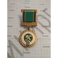 Знак 15 лет Таможенной службе Беларуси
