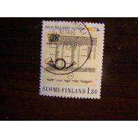 Финляндия 1988 350-летию финской почты услуги