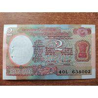 Индия 2 рупии 1985 UNC