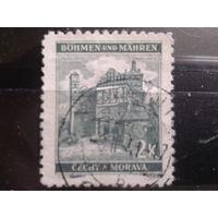 Богемия и Моравия 1940 замок в Пардубице