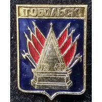 Значки СССР: герб города Тобольск (ныне Россия), Русский сувенир