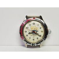 Часы Ыосток амфибия альбатрос,нержавейка.Старт с рубля.