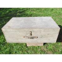 Ящик сундук деревянный ретро н15