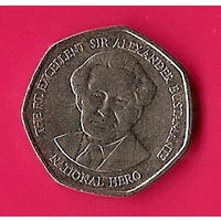 39-27 Ямайка, 1 доллар 1996 г.