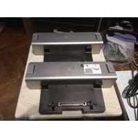 Док-станции HP HSTNN-I09X+БП+доп.батарея+антиугонный шнур (2 штуки одним лотом)