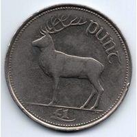 1 фунт  1990  Ирландия. олень