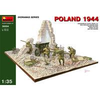Диорама Польша 1944 г., сборная модель 1/35 Mini Art 35024