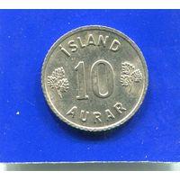 Исландия 10 эйре 1967